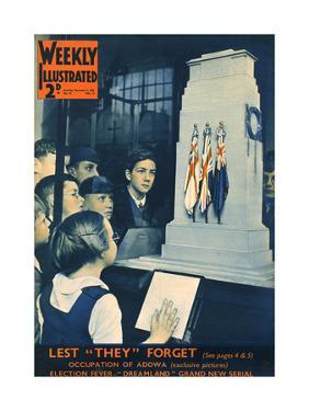 Front Cover of Weekly Illustrated Magazine - 9th November 1935