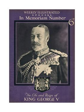Front Cover of Weekly Illustrated Magazine - King George V Special Commemorative