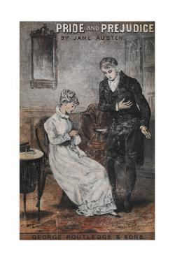Front Cover To the Novel, 'Pride and Prejudice' by Jane Austen