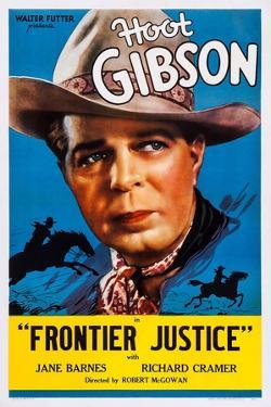 Frontier Justice, Hoot Gibson, 1936