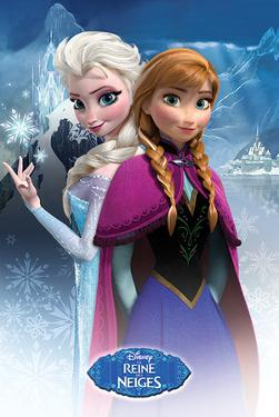 Frozen - Anna & Elsa French Language