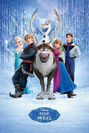 Frozen - Cast French Language