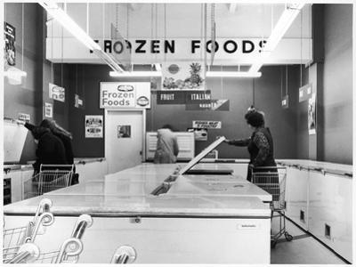 Frozen Food Shop, 1970s