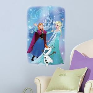 Frozen Magic Peel and Stick Giant Wall Graphic