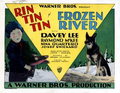 Frozen River, Davey Lee, Rin Tin Tin, 1929