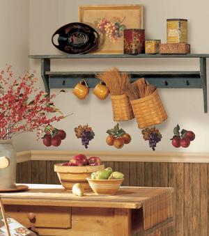 Fruit Harvest Peel & Stick Wall Decals