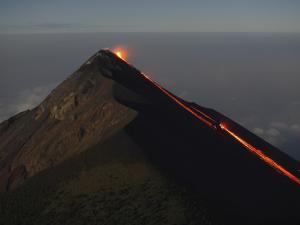 Fuego Lava Flow, Antigua, Guatemala