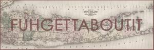FUHGETTABOUTIT - 1873, Long Island Map, New York, United States Map