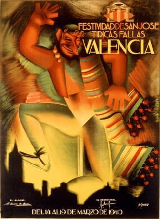 Valencia Festividad by Fulgencio