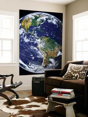 Full Earth Showing the Americas