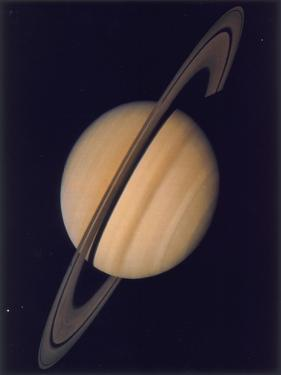 Full View of Saturn and Her Rings, 1980
