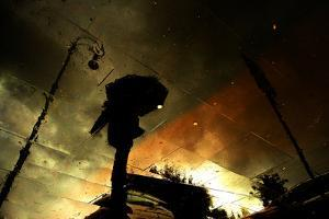 Coloured Rain by Fulvio Pellegrini