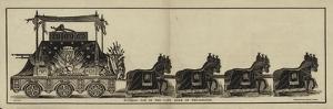 Funeral Car of the Late Duke of Wellington