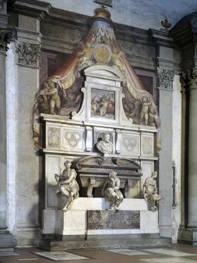 Funerary Monument to Michelangelo, by Vasari