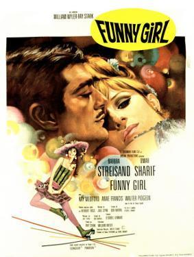 Funny Girl, Omar Sharif, Barbra Streisand, 1968