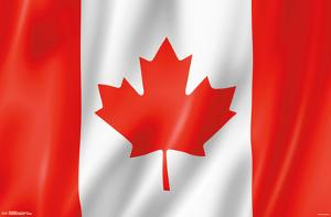Furrowed Canadian Flag