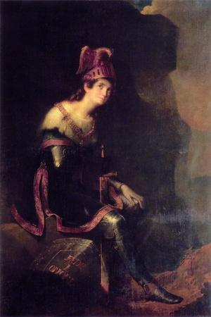 Princess Zinaida Volkonskaya in Tancred Dress, 1820