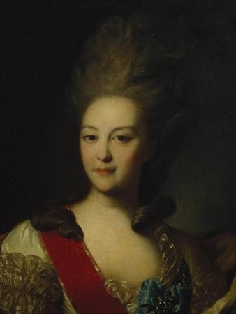 Portrait of Countess Ekaterina Nikolayevna Orlova (1758-178), C. 1779