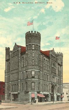 G.A.R. Building, Detroit, Michigan