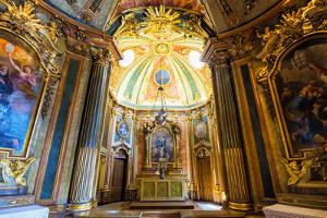 Chapel, Royal Summer Palace of Queluz, Lisbon, Portugal, Europe by G and M Therin-Weise