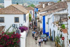 Streets, Obidos, Estremadura, Portugal, Europe by G and M Therin-Weise