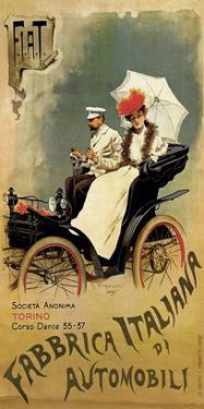 F.I.A.T., Fabbrica Italiana di Automobili by G^ Carpanetto