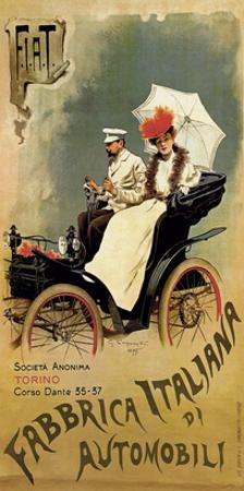 F.I.A.T., Fabbrica Italiana di Automobili by G. Carpanetto