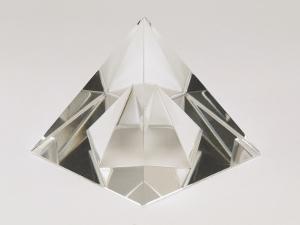 Close-Up of a Crystal Pyramid by G. Cigolini