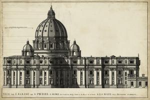 St. Peter's, Rome by G. de Rossi