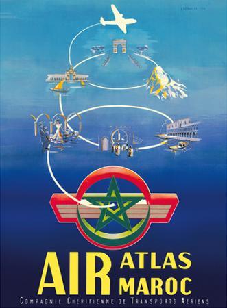 Air Atlas Maroc - Morocco by G. Debureau