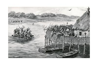 Lake-Dwellers Attacked