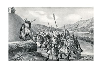 Meeting of Saxon Chiefs