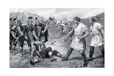 Roman Legionaries Fight