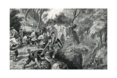 Roman Merchants Attacked by Britons