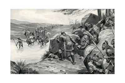 Saxons Ambush Danes