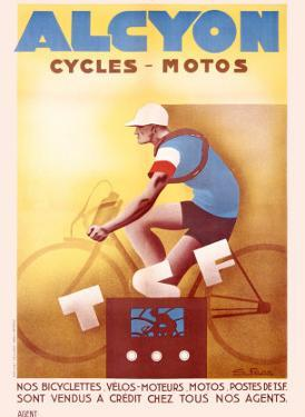 Alcyon Cycles-Motos by G^ Favre