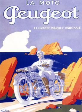 Peugeot Motorcycle by G. Favre