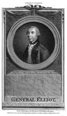 George Baron Heathfield by G Fred. Kochler
