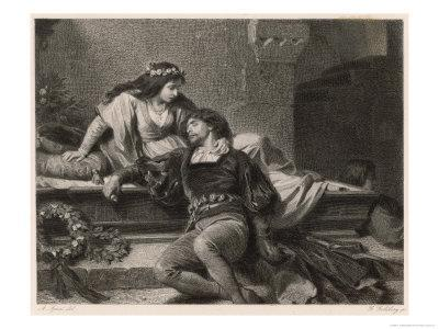 Romeo and Juliet, Act V Scene III: Juliet Wakes in the Vault to Find Romeo Dead
