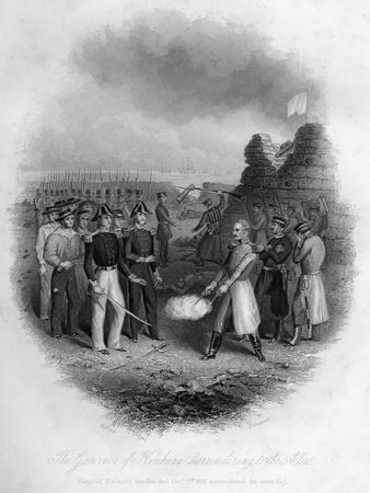 The Governor of Kinburn Surrendering to the Allies, Crimean War, October 1855