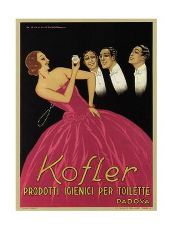 Kofler Perfume and Beauty Products by G. Guillermaz