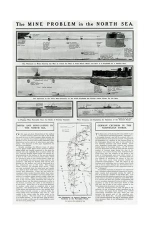 Mine Problem in North Sea