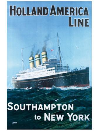 Holland America Line by G.h Tavis