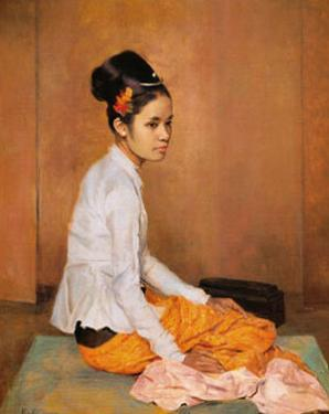 Burmese Pearl by G. Kelly
