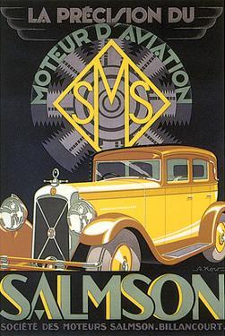 La Precision du Moteur d'Aviation Salmson by G. Kow
