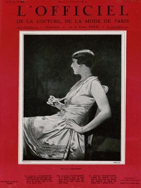 L'Officiel, September 1926 - Mlle Falconetti en Martial & Armand by G. L. Manuel Frères