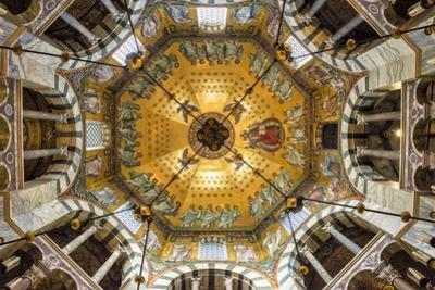 Aachen Cathedral Cupola and Barbarossa's Chandelier by G&M