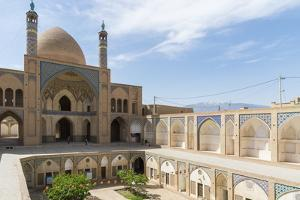 Agha Bozorg Mosque, Inner Courtyard, Kashan, Isfahan Province, Islamic Republic of Iran by G&M Therin-Weise