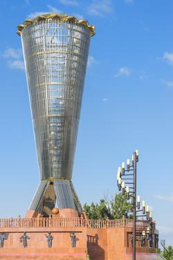 Altyn Shanyrak monument, Independence Park, Shymkent, South Region, Kazakhstan, Central Asia, Asia by G&M Therin-Weise