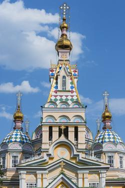 Ascension Cathedral (Zenkov Cathedral), Almaty, Kazakhstan, Central Asia, Asia by G&M Therin-Weise